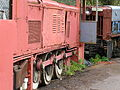 Hudswell Clarke 0-6-0DM mining locos, Clearwell Caves, Forest of Dean 18.04.04 P1010032 (10210386485).jpg