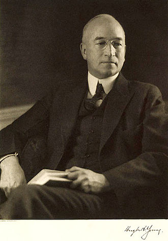 Hugh H. Young - Hugh Hampton Young, published in A book of Portraits, Johns Hopkins, 1922