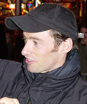 Hugh Jackman - Hugh Jackman signing autographs for The Boy From Oz outside Broadway in 2003