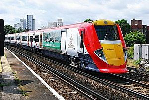 British Rail Class 460 - Class 460 No. 460006 in Emirates livery