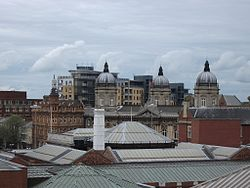 Hull skyline from Princes Quay car park