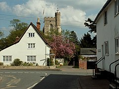 Hundon village, Suffolk - geograph.org.uk - 167949.jpg