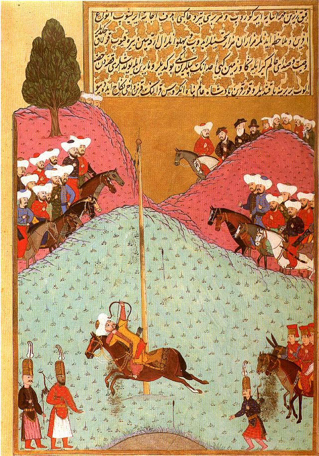 sultán Murad II tiro con arco
