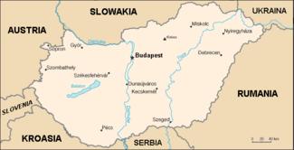 Peta Hongaria