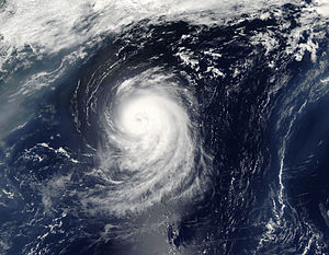 Hurricane Irene on August 15, shortly before r...