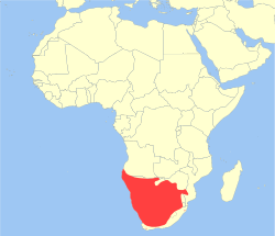 Hyaena brunnea distribution.svg