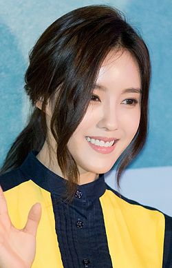 Hyomin at Love Jinx vip premiere, February 2014 03.jpg