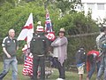 ICC Champions Trophy - Edgbaston Cricket Ground - England vs Australia - fans arriving - flags (8986759323).jpg