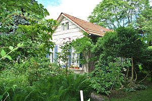 Hannah Höch - Hannah Höch's Gardenhouse, Berlin, Germany