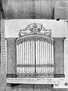 ijzeren hek in lodewijk xiv-stijl, dat toegang geeft tot de portugese synagoge te den haag -