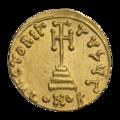 INC-1526-r Солид Юстиниан II ок. 692-695 гг. (реверс).png