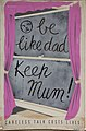 INF3-230 Anti-rumour and careless talk Be like dad - keep mum! (view through window to writing on wall) Artist Reeves.jpg