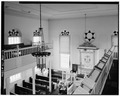 INTERIOR-VIEW FROM SOUTH GALLERY - Woodbine Brotherhood Synagogue, 612 Washington Avenue, Woodbine, Cape May County, NJ HABS NJ,5-WOBI,1-13.tif