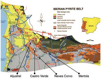 Iberian Pyrite Belt - Iberian Pyrite Belt