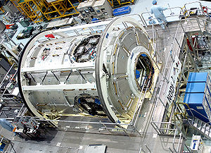 Aerospace manufacturer - Construction of the Harmony Module of the International Space Station