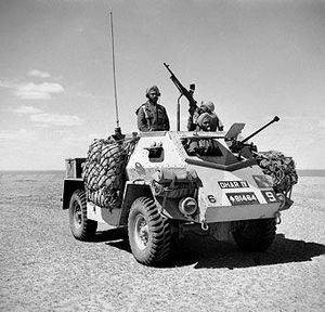 3rd Indian Motor Brigade - An Indian Pattern Carrier Mk IIA, Dhar IV in North Africa of the type used by 3rd Indian Motor Brigade.