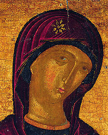 Icon of Virgin Mary (fragment, Greece).jpg