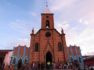 Ráquira - Image: Iglesia Raquira