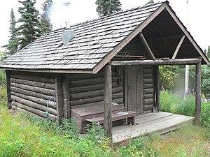 National Register of Historic Places listings in Denali Borough, Alaska - Image: Igloo Creek Patrol Cabin