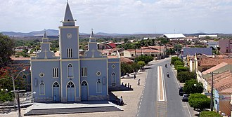 Uiraúna - Church of Jesus, Maria and José