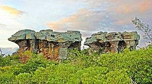 Catimbau National Park - Image: Igrejinha Vale do Catimbau