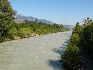 Ill (Vorarlberg) river in Vorarlberg