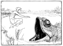 Illustration inset at page 51 of Indian Fairy Tales (1892).png