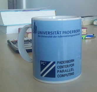 Paderborn University - Coffee cup from Paderborn Center for Parallel Computing