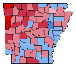United States presidential election in Arkansas, 1988 - Image: Img.AR pre 1988