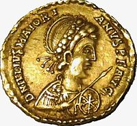 Impero d'occidente, maggioriano, solido in oro (arles), 457-461 (obverse).jpg
