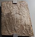 Impero neo-assiro, regno di sennacherib, arcieri in marcia, 704-681 ac., da ninive o khorsabad.jpg