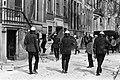 In Amsterdam zijn ongeveer dertig panden gekraakt o.a. pand bezet op Herengrach, Bestanddeelnr 923-5001.jpg
