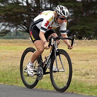 Ina-Yoko Teutenberg - Teutenberg riding the time trial stage of the 2008 Geelong Tour in Australia