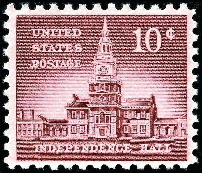 Dosiero:Independence Hall 1956 Issue-10c.jpg