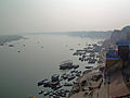 India - Varanasi - 003 - The holy Ganga (2146257299).jpg