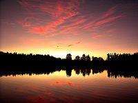 Indian Summer Sunset on Phantom Lake - panoramio.jpg