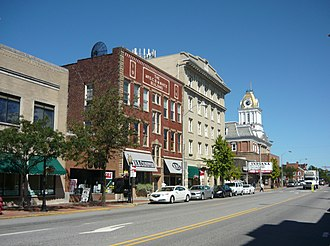 Downtown Indiana Historic District - Philadelphia Street, August 2010