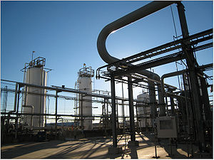 The Petrochemical Industry dominates the Bayto...