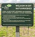 Informatie over het loslopende vee in het gebied. Locatie Noarderleech 02.jpg