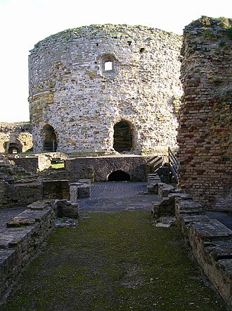 Camber Castle - The keep, based on the original artillery tower