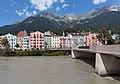 Innsbruck, die Innbrücke met die Mariahilfstrasse en Innstrasse foto5 2017-07-30 12.42.jpg