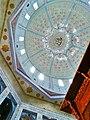Inside ceiling of the shrine of Lal Shahbaz Qalandar.jpg