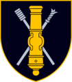 Insignia of the General Romualdas Giedraitis artillery Battalion (Lithuania).png
