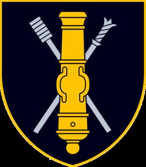 General Romualdas Giedraitis Artillery Battalion - Insignia