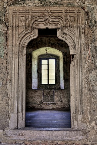 Interiér hradu Bečov