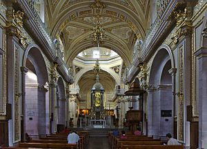 Cathedral Basilica of Our Lady of the Assumption, Aguascalientes - Internal view