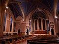 Interior of Holy Trinity church, Ripon (geograph 6334162).jpg
