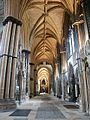 Interior of the Cathedral, Lincoln - geograph.org.uk - 586162.jpg