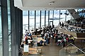Interior of the Eye filmmuseum at ABT 60 anniversery party at 28 March 2012. The building is located just beside the IJ and provides a magnificent view at all the passing ships - panoramio.jpg