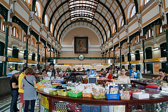 Saigon Central Post Office - Interior of the Central Post Office